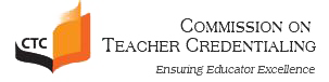 commission on teacher credentialing logo